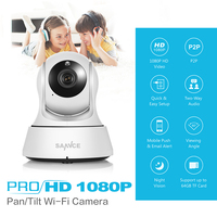 FB SANNCE HD 720P IP Camera Wi Fi CCTV Security Network WiFi Wireless Camera