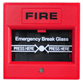 glass broken button  2-wire Conventional Manual Call Point  fire alarm system Conventional panel accessories