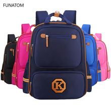 купить Children School Bags For Girls Boys Orthopedic Backpack Kids Backpacks schoolbags Primary School backpack Kids Satchel mochila по цене 989.99 рублей