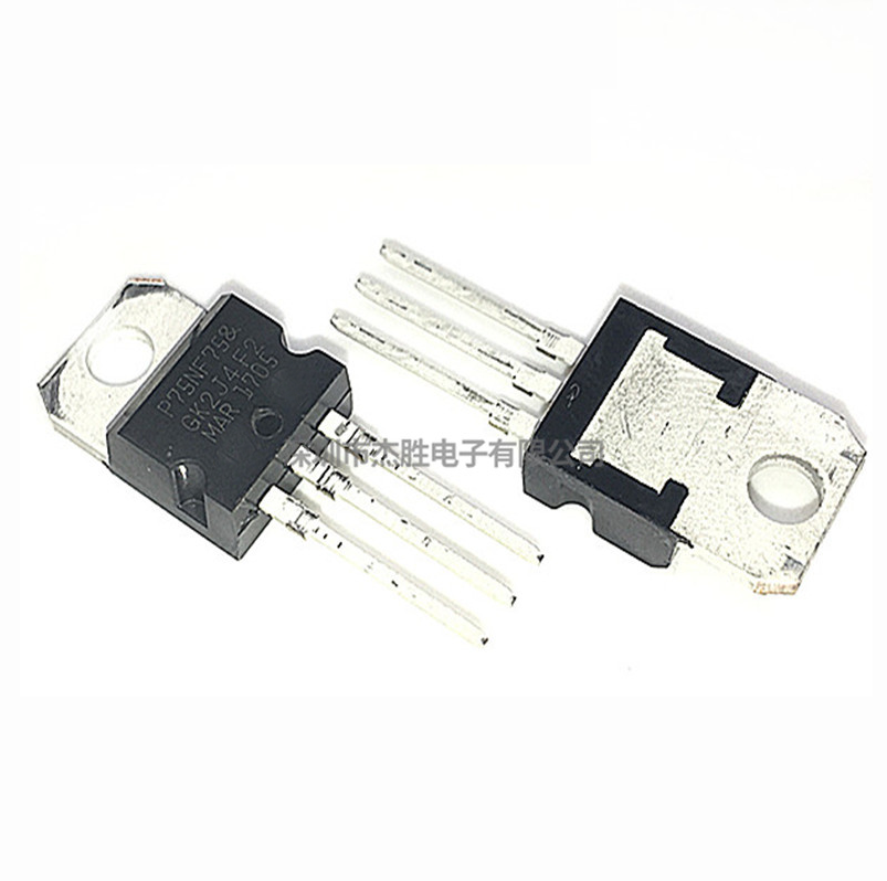 10pcs/lot <font><b>P75NF75</b></font> STP75NF75 FET 75NF75 motor controller DIP TO-220 new original image