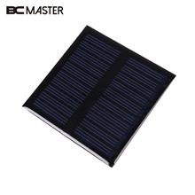 BCMaster 0.45W 5V Polysilicon Mini Solar Panel Solar Module System Epoxy Plate DIY Small Cell Battery For Tablet pc phone camera