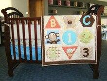 Promotion 3pcs Embroidery font b organic b font infant font b baby b font font b
