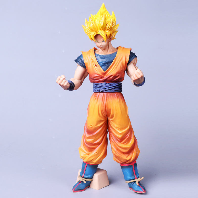 Anime Dragon Ball Z Grandista ROS Resolution of Soldiers Son Gokou Goku PVC Action Figure Collectible Model Kids Toys Doll 32CM aventik fly fiberglass rod ultra light medium action rod 4pcs cordura rod tube fly fishing rods special introudctory sale