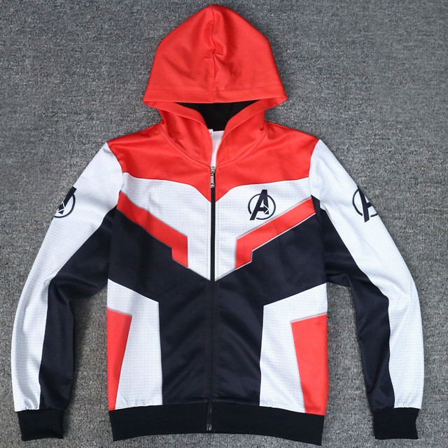8a6ed7a9c5e Original Version The Avengers Endgame Quantum Realm Jacket Advanced Tech  Hoodie 2019 New Superhero Iron Man Hoodies Suit Casual