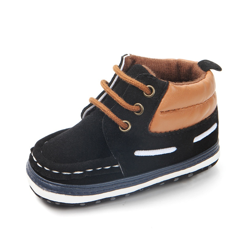 Baby Anti-slip Spring Autumn Shoes for Boy Kids Soft Sole First Walkers Casual Walking Crib Shoes