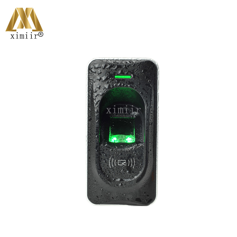 IP65 Waterproof Fingerprint Reader Exit Reader For F18 Access Control System RS485 Fingerprint And RFID Card Reader ZK FR1200 waterproof touch keypad card reader for rfid access control system card reader with wg26 for home security f1688a