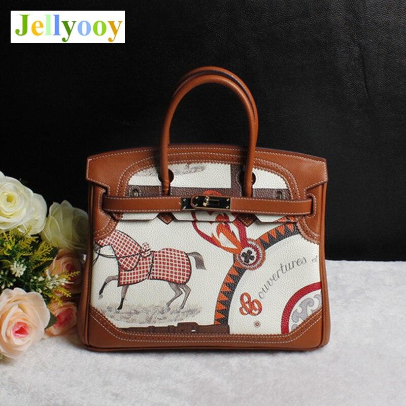 Detail Feedback Questions about 2018 Luxury Handbags Cow Skin Women Bag  Designer Graffiti Platinum Tote Handbags Genuine Leather Shoulder Bag Luis  Vuiton Gg ... c05267c2278b