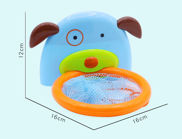 Baby Bathtub Shooting Basketball Toy