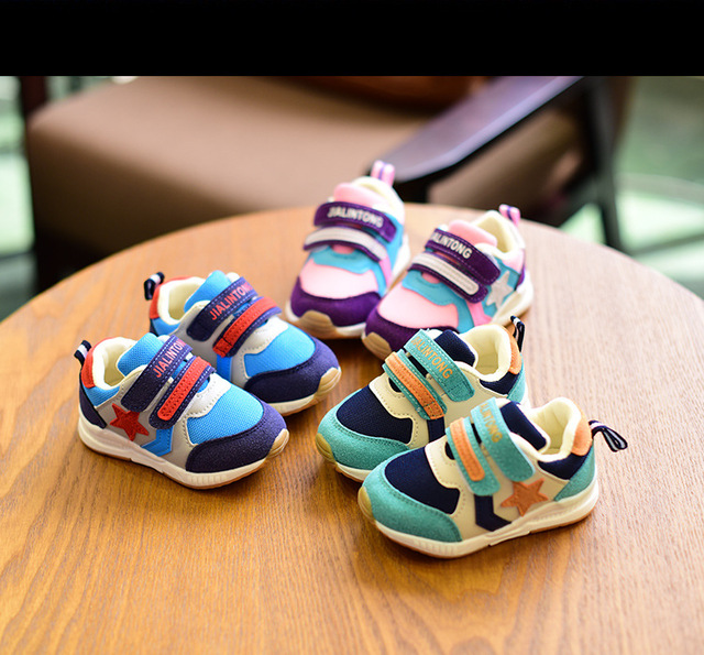 Original Boy Girls  Wearable Kids Shoes Children  Running Shoes Boost Breathable basketball sneakers