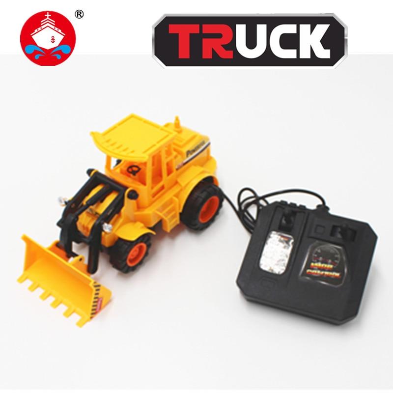 font b RC b font Truck Toys 4CH Remote Control Bulldozer font b RC b