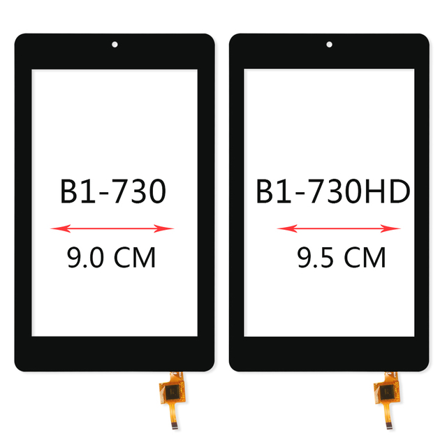 SRJTEK  7″ Touch Screen For Acer Iconia One 7 B1-730 B1-730HD B1 730 730HD Digitizer Sensor Glass Panel Tablet PC Replacement