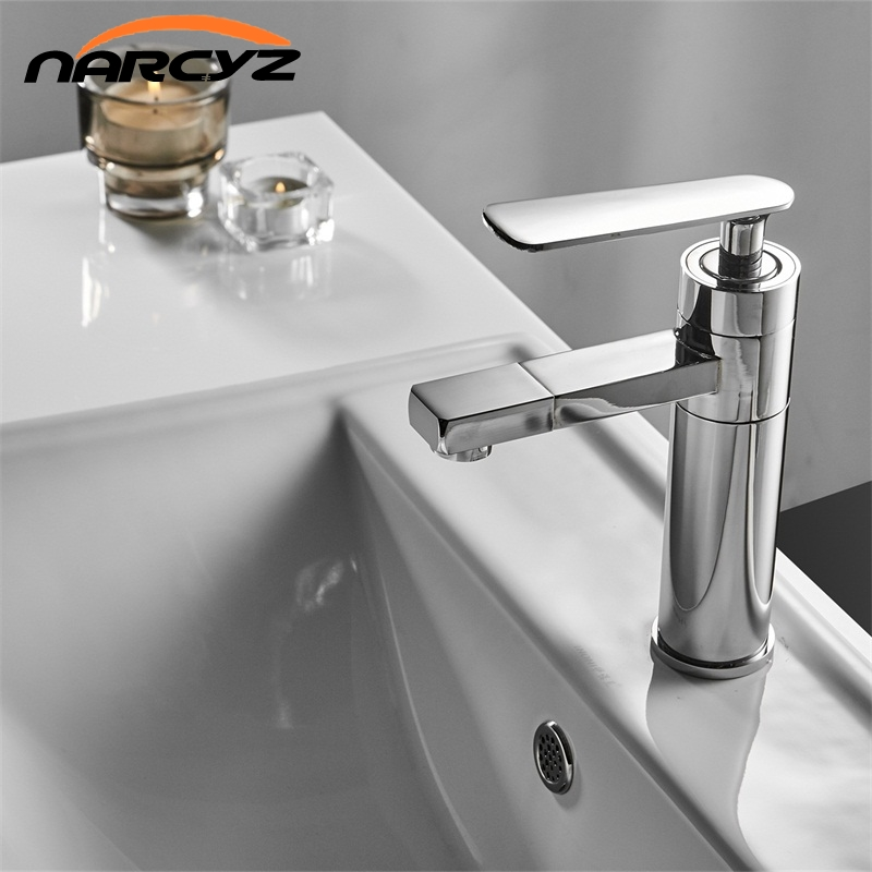 Basin Faucets Chrome/Black/White Brass Bathroom Faucet Vessel Sinks Mixer Vanity Tap Swivel Spout Deck Mounted  Faucet XT546Basin Faucets Chrome/Black/White Brass Bathroom Faucet Vessel Sinks Mixer Vanity Tap Swivel Spout Deck Mounted  Faucet XT546