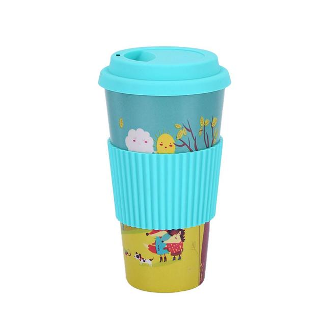 Lovely Universal Eco-Friendly Bamboo Coffee Mug