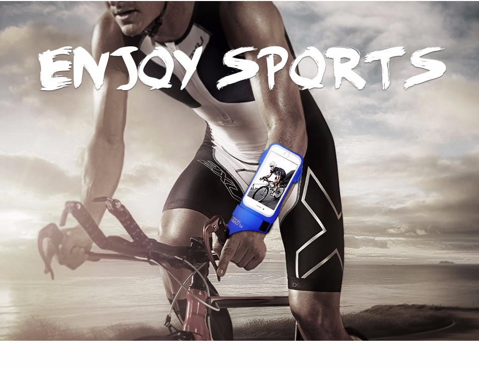 FLOVEME New Cycling Sports ARMBAND Case For Apple Iphone 6 6S Plus SE 4S For Iphone5S For XIAOMI REDMI For HUAWEI P9 Touch Pouch 1 (1)