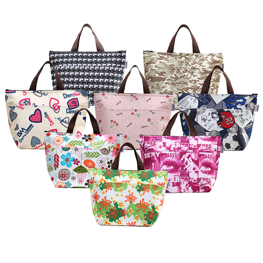 1 pcs Portable Thermal insulation Bag/Cooler Lunch Box Travel Picnic Carry Bag Office Family Picnic