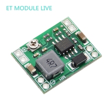 5 шт., Сверхмаленький Размер, модуль понижающего питания для Arduino, 3 А, Регулируемый понижающий преобразователь, MP1584EN, замена LM2596