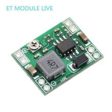 Módulo de fuente de alimentación reductor de DC DC de tamaño ultrapequeño, 3A, convertidor de Buck ajustable para Arduino MP1584EN, reemplazo LM2596, 5 uds.