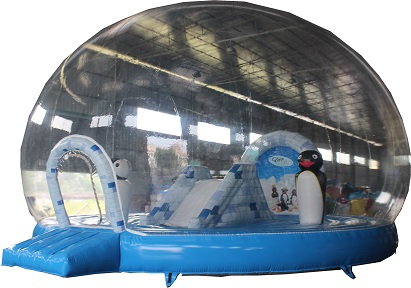 Inflatable Snow Globe Customized Inflatable Decoration Ball, Hot Sale Inflatable Christmas PVC Balloons