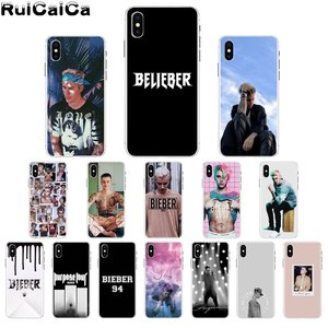 RuiCaiCa Justin Bieber TPU Soft Silicone Phone Case Cover for Apple iPhone 8 7 6 6S Plus X XS MAX 5 5S SE XR Cover(China)