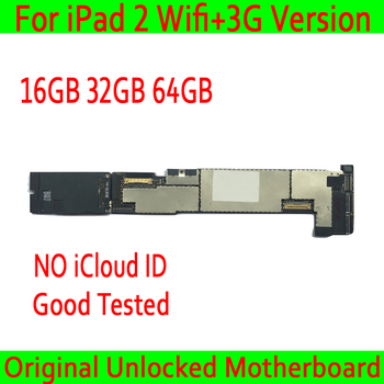 Dành cho iPad Air 2 Wifi + 3G Phiên Bản Bo Mạch Chủ không iCloud, 16 GB/32 GB/64 GB Ban Đầu mở khóa Wifi + 3G Phiên Bản iPad 2 Mainboard