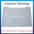 A1181 Top Case Para Apple Macbook A1181 Top Case Con el Teclado Y el Trackpad EE.UU. Reemplazo de Color Blanco