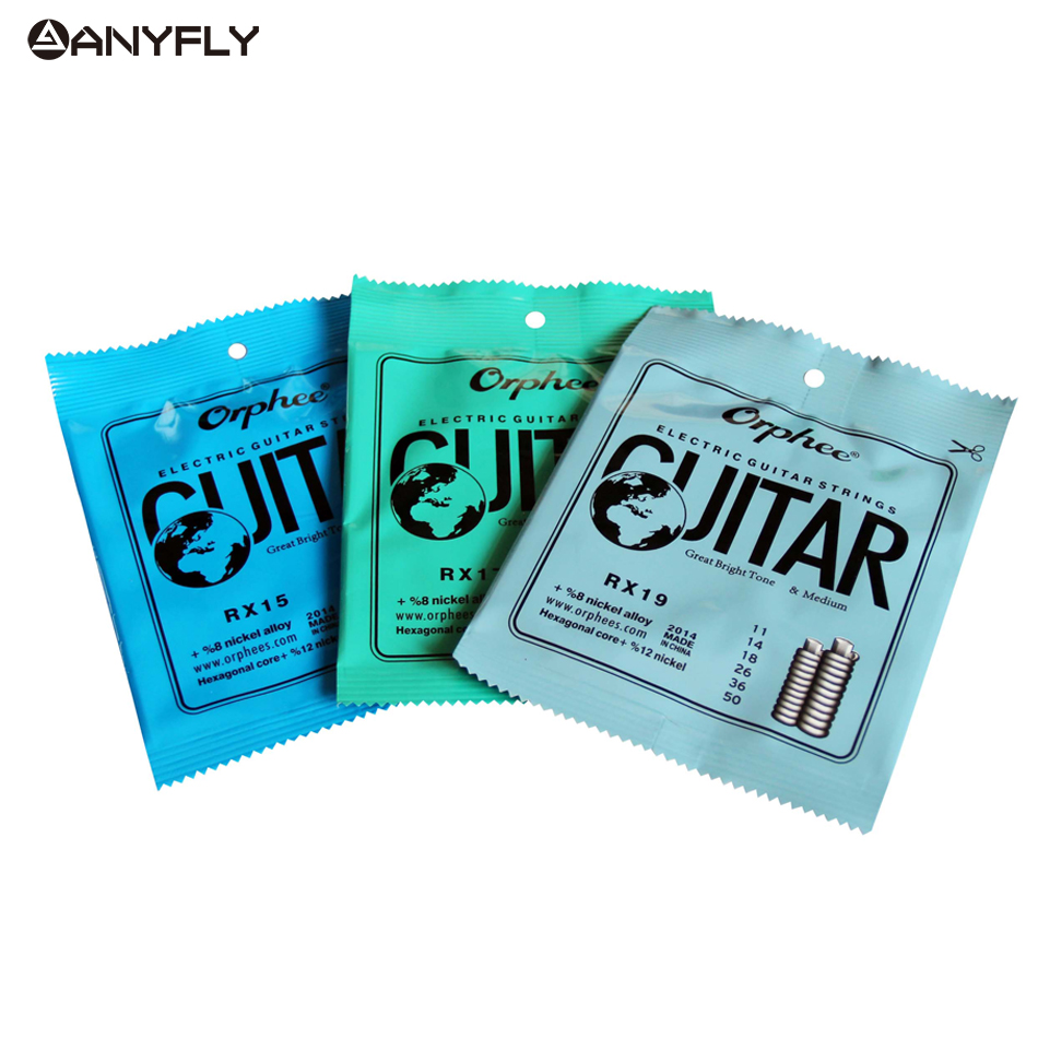 Free Shipping Hot 1 Set Practiced Nickel Plated Steel Guitar Strings For Electric Guitar With Original Retail Package(China)