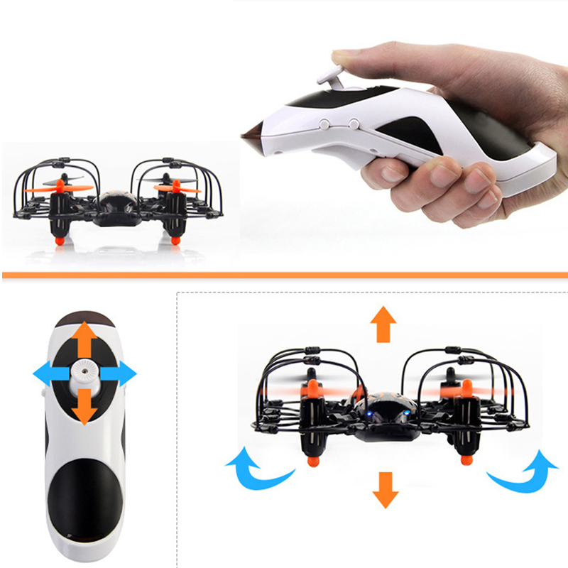 US $34 57 9% OFF|Accelerometer Sensing One handed Controlled 3D Rolling &  360 degree Flipping Aircraft USB Charging LED Light RC Airplane-in RC