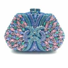 XIYUAN Brand Hollow Out Diamond Women Evening Bags Clutch