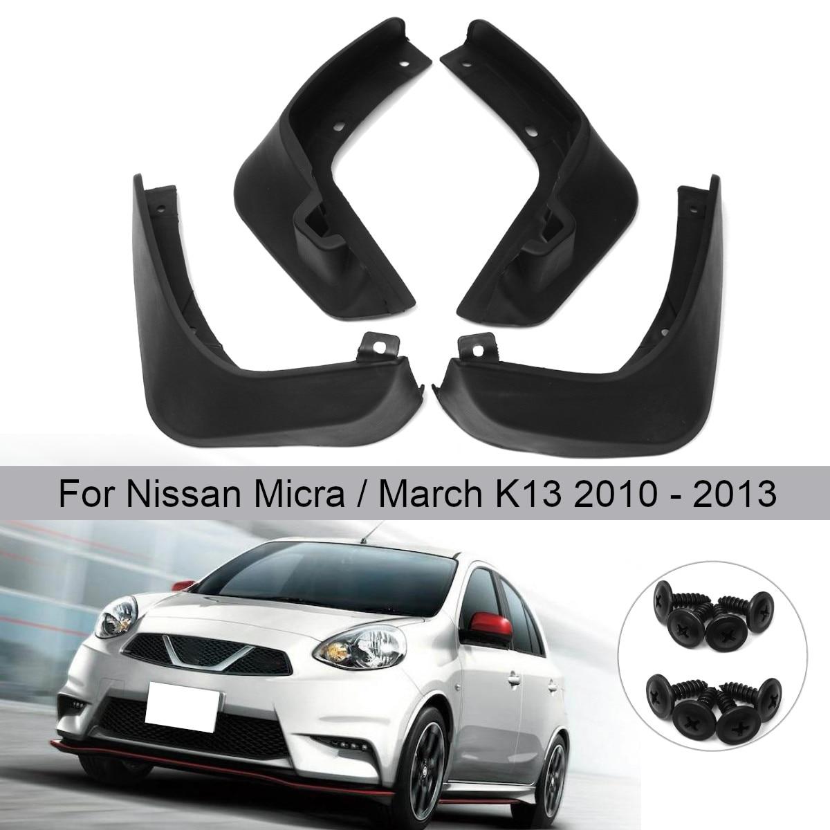 Garde-boue pour garde-boue de voiture garde-boue pour garde-boue pour Nissan Micra/March K13 2010 2011 2012 2013