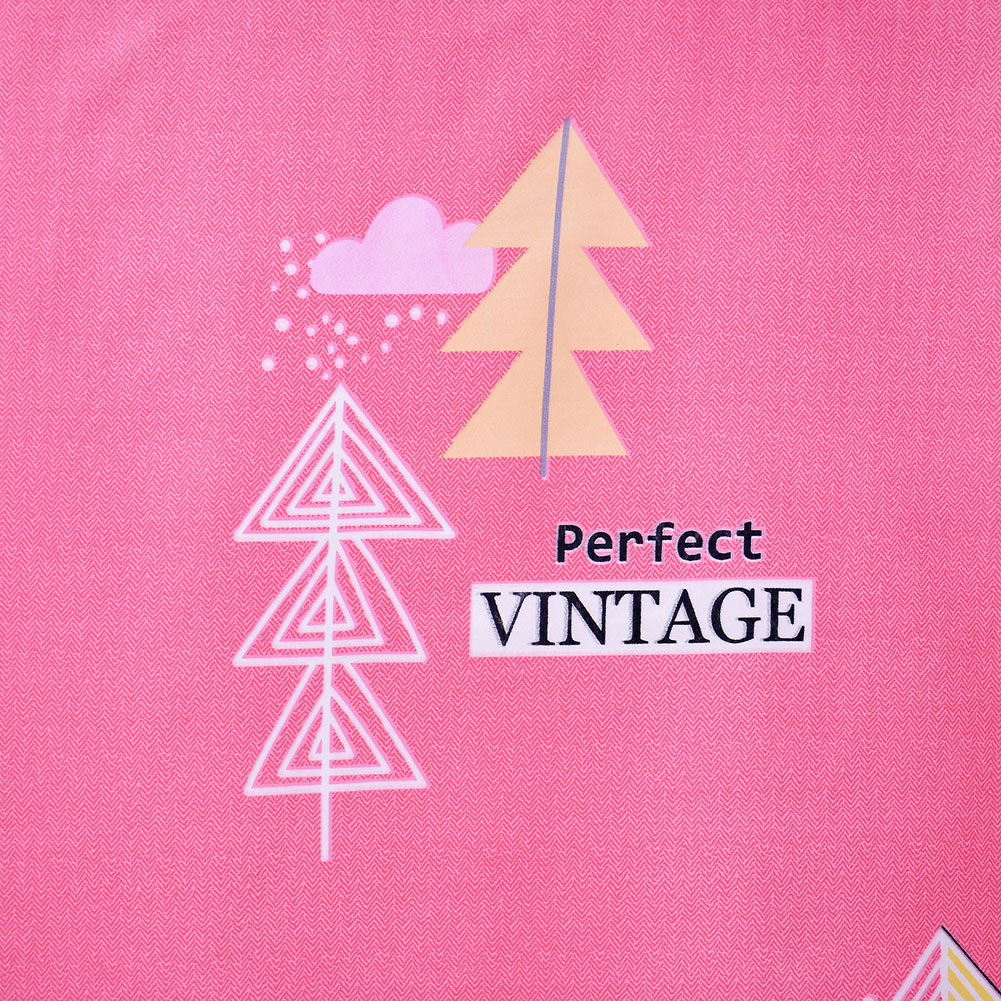 Triangle Tower Stick on Balcony Short Curtains Kitchen Blockout Drape Window Decor pink in Curtains from Home Garden