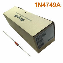 MCIGICM 2500 pcs Zener Diode 24V 1W Through Hole DO-41 1N4749 1N4749A