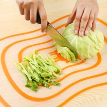 Four Pcs/Lot Kitchen Chopping Block Slicing Board Non – slip Frosted Antibacteria Plastic Kitchen Devices Software Fruit Vegetable Meat