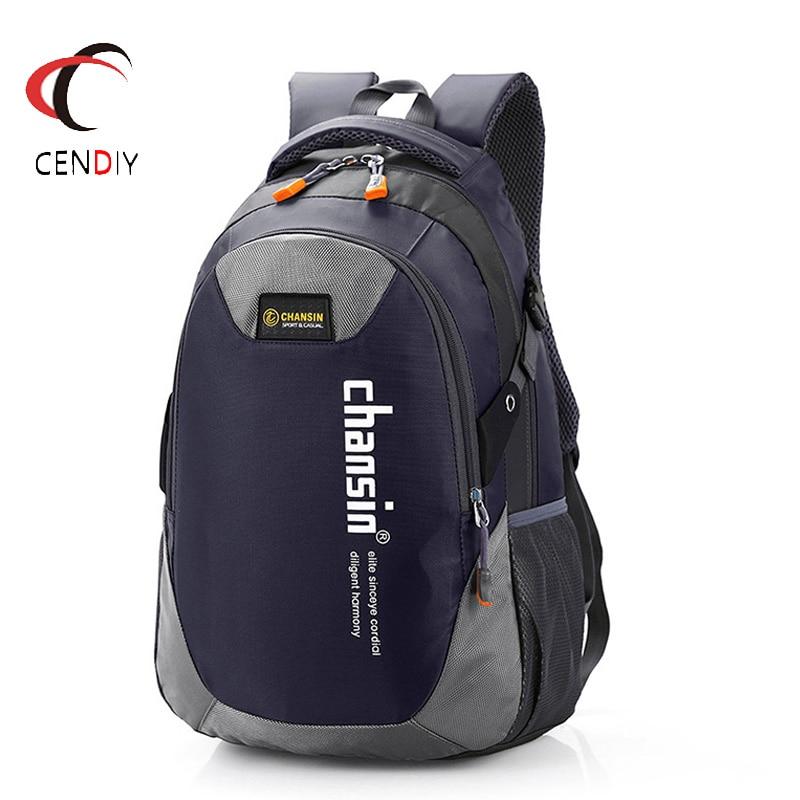 2019 Fashion Men Backpack Male Travel School Bag Student High Capacity Waterproof Backpack Men Casual Nylon Laptop Backpack