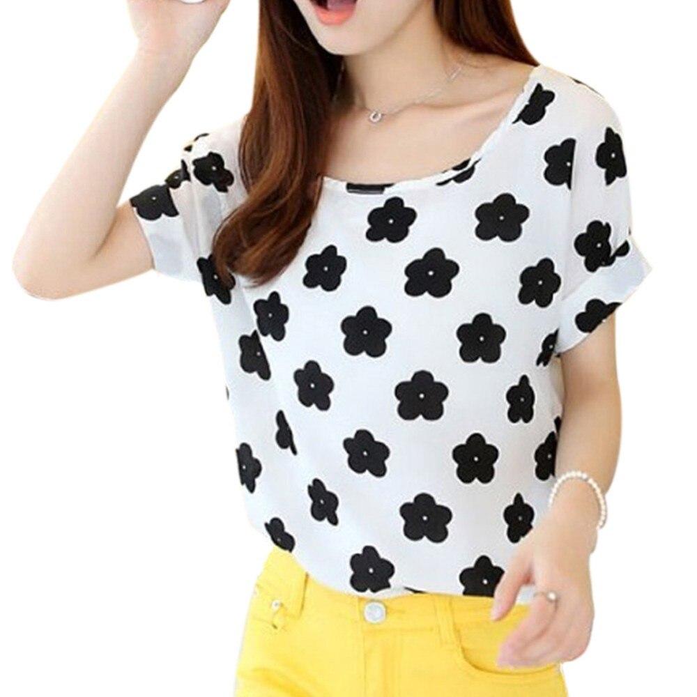 HTB1KNh5RXXXXXa2XVXXq6xXFXXXF - T-shirts O Neck Bird Printed Women Top Colorful Short Sleeve