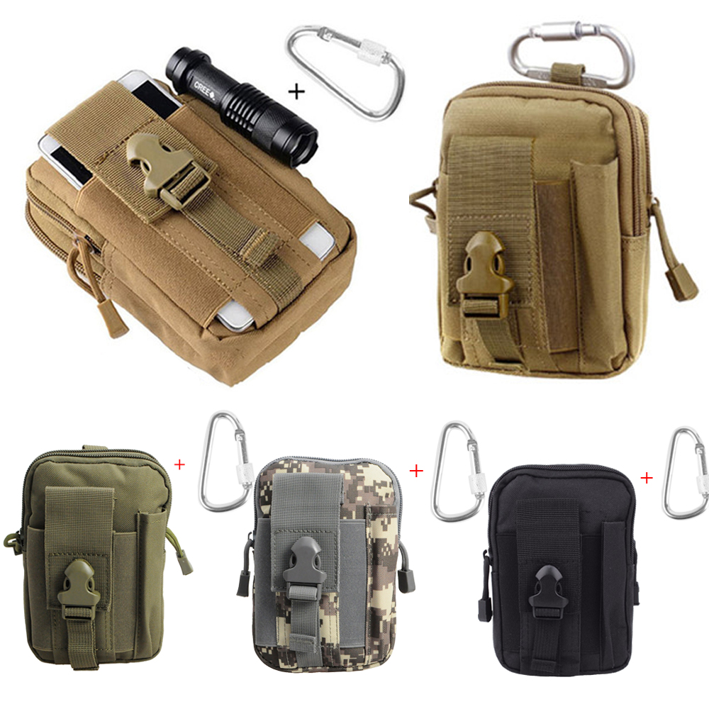 Military Bag Tactical Waist Pack Mobile Phone Utility Sundries Pouch Equipment Packs Hunting Bags Nylon Tools Available In Various Designs And Specifications For Your Selection Pouches