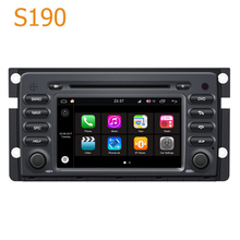 Road Top Winca S190 Android 7.1 System Quad CPU Car GPS DVD Player Head Unit for Smart Fortwo 2008-2012 with Radio Navigation