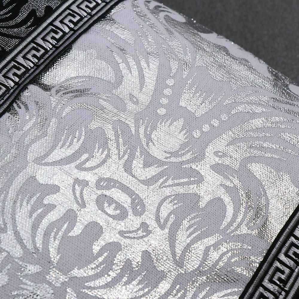 جديد فاخر خمر الأسود والفضة غطاء الوسادة الزخرفية الأزهار كيس وسادة لسيارة ديكور للكنبة المخدة وسادة المنزل يغطي