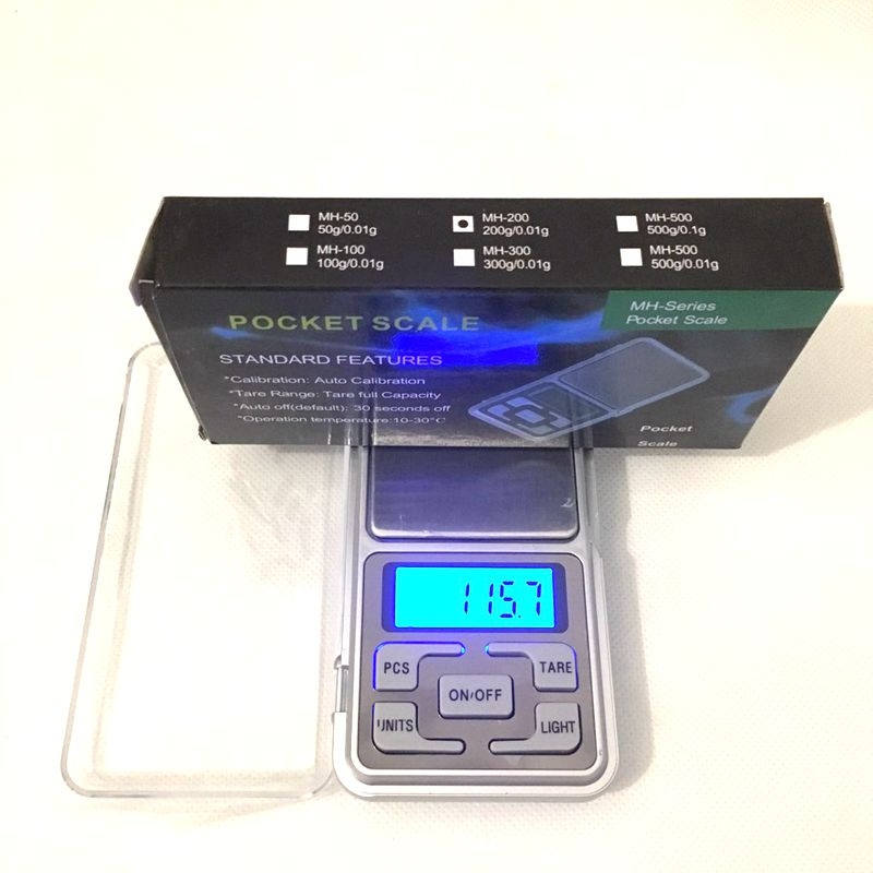 0 01g 200g Pocket Digital Kitchen Food Scale 0 1g 500g Battery Digital Display Hot Sale Free Shipping in Kitchen Scales from Home Garden