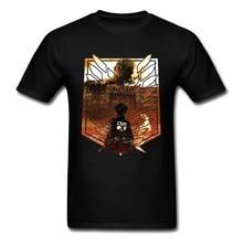 Ghoul Titan T Shirt Comic Attack On Tshirts Dark Reapers EREN Unicorn Funny T-Shirts Men SHIKISHIMA Shingeki No Kyojin