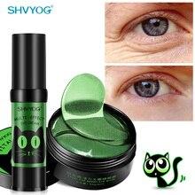 Кристалл коллагеновая маска для глаз крем для век против морщин Anit Age Patch 60 шт. Sleep Gel Hydroge патчи под глазами мешки, маты Корея