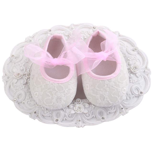 7a07bceb71 Baratos Sapatos Da Menina de Flor Do Bebê
