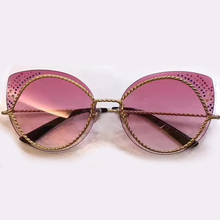 2017 New Fashion Sunglasses Women Brand Designer Bling Bling Eyewear High Quality Female Sun Glasses Oculos De Sol