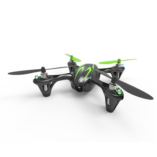 Professional For Hubsan X4 H107C 2.4G 4CH RC Quadcopter with Camera Gyro Drone Black & Green Four Axes Aircraft