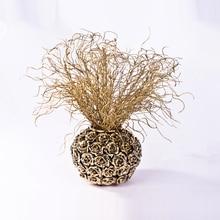 Glitter artificial Artificial flowers /Christmas ornaments  Crystal plants/Juncus effusus/decorative flower