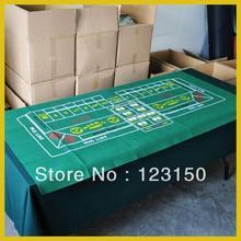 ZB-014 нетканый материал, Техасский Холдем скатерть для крапов 90*180 см зеленый войлок