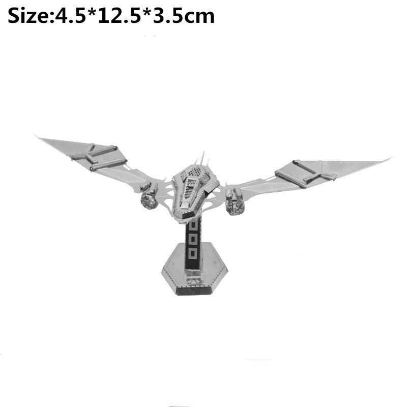 3D Metal Puzzle Model Kit DIY Stainless Steel Starship DOCTOR WHO TARDIS Animal Ship Adult Jigsaw DIY Jigsaw Manual Gift Toys 43