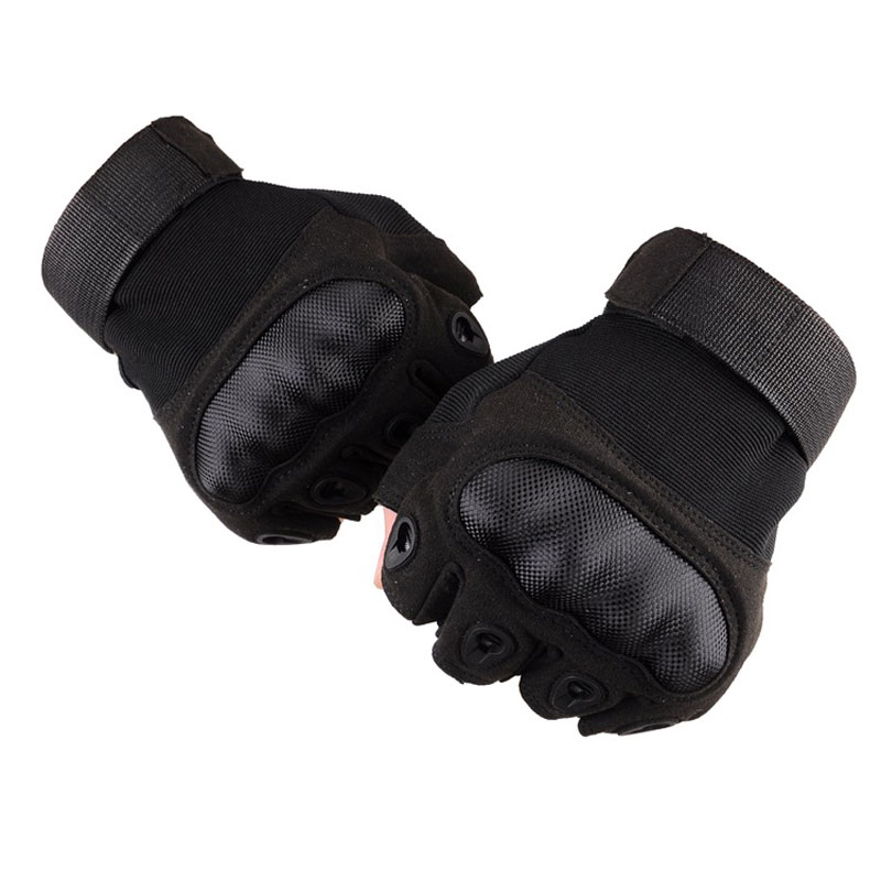 Tactical Gloves Men Army Military Special Forces Paintball Gear Combat Outdoor Sports Anti-Skid Hunting Half Finger Gloves