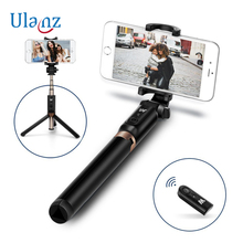 Universal 3 in 1 Phone Tripod Selfie Stick Bluetooth Remote Selfie tripod for iPhone Huawei Xiaomi