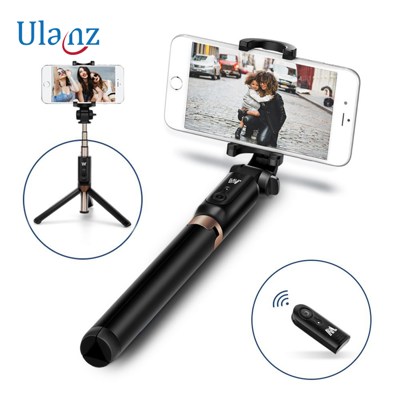 Universal 3 in 1 Phone Tripod Selfie Stick Bluetooth Remote Selfie tripod for iPhone Huawei Xiaomi Android Smartphones Gopro