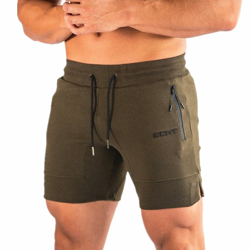Summer New Casual Mens Shorts Gyms Fitness Joggers Mesh Breathability Quick-drying Fashion Beach Shorts Bodybuilding Sweatpants